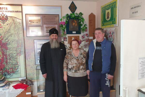 Правящий архиерей посетил село Казакевичево