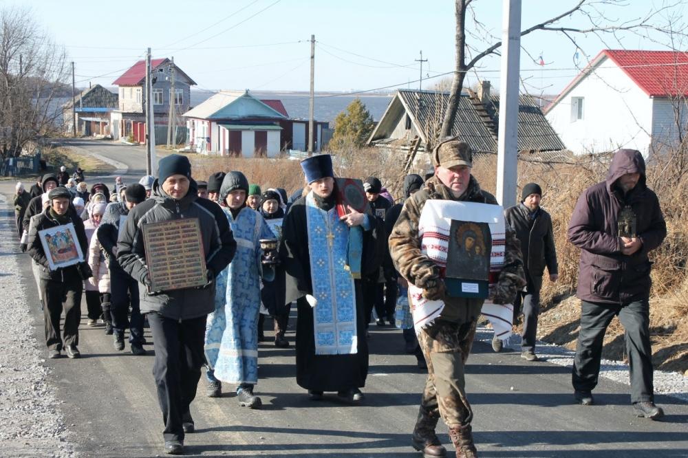 Престольный праздник пограничного села Казакевичево